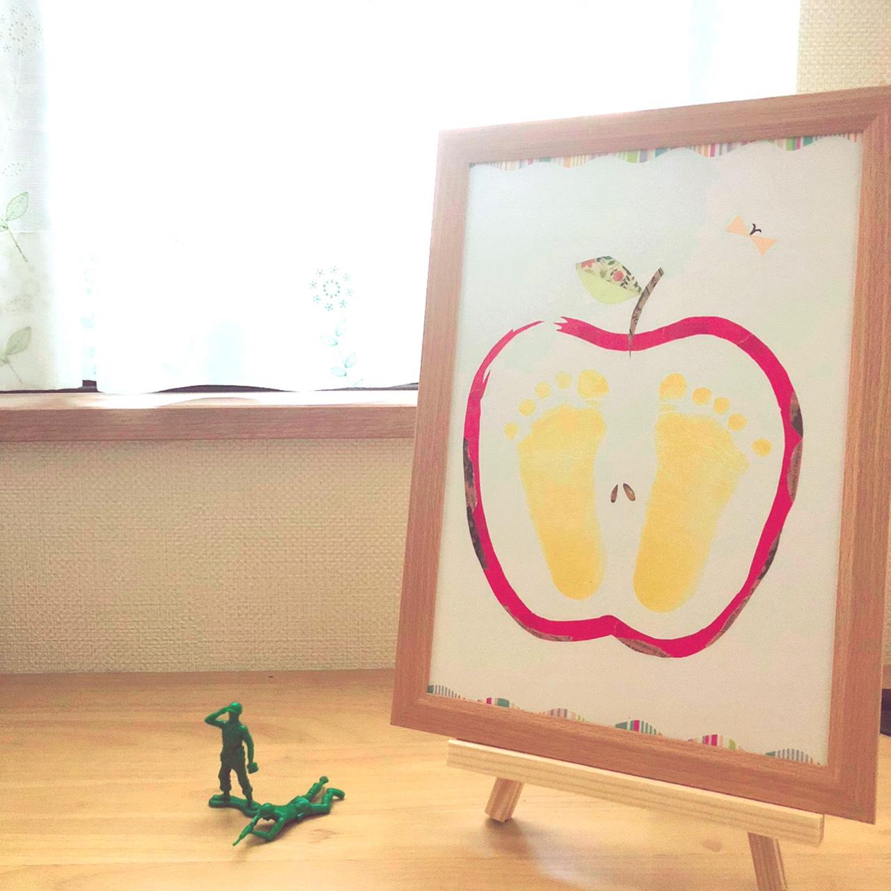お子様の成長記録をおしゃれなアートに【オンライン講座】