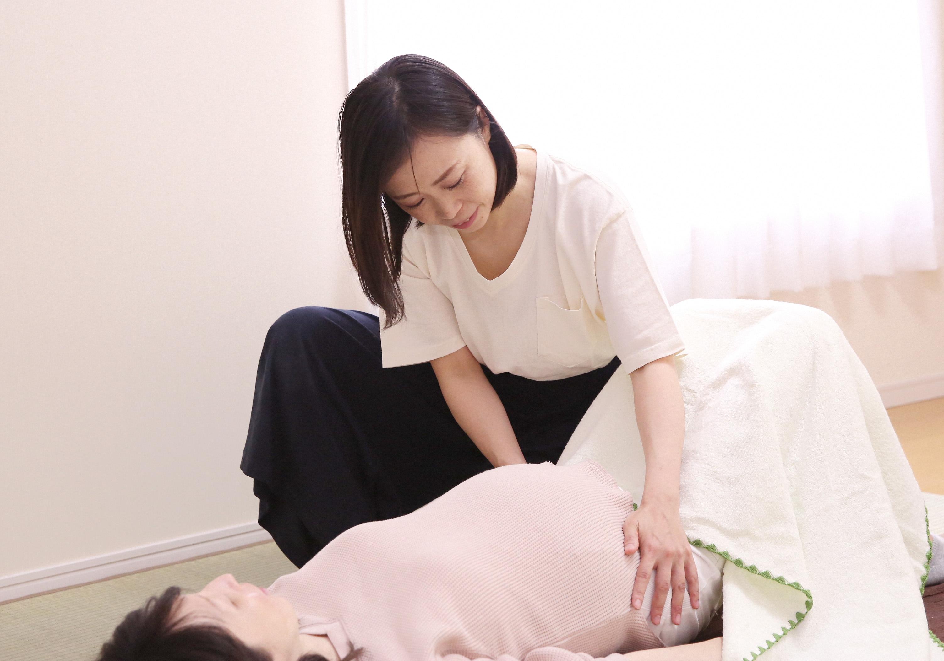 妊産婦さんへの整体ケア