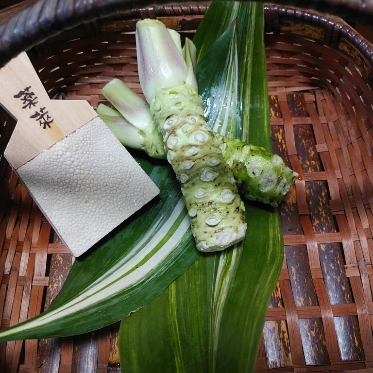 山葵とチーズの♪ハーモニー   美味です!