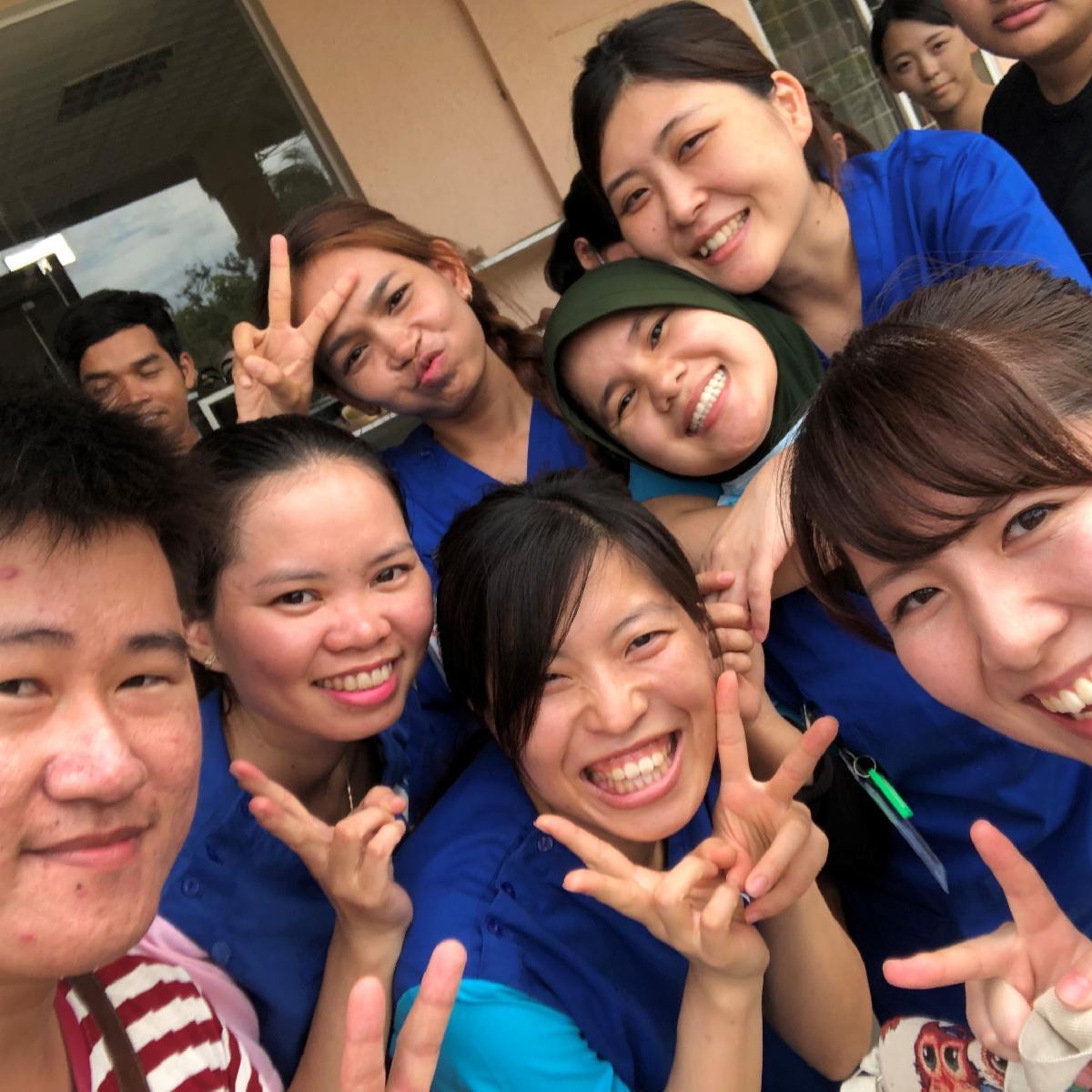 カンボジアでの体験談
